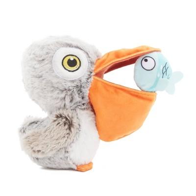 BARK Big Bill & The Beak-A-Boo Fish Dog Toy