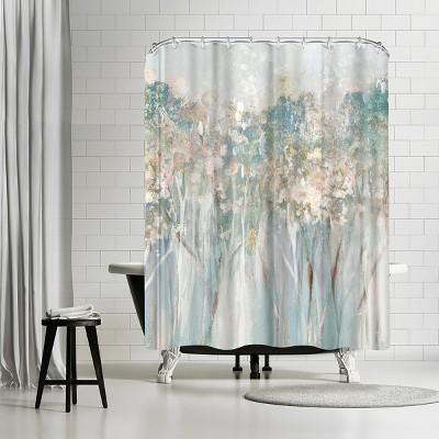 "Americanflat Dewy Iii by Pi Creative Art 71"" x 74"" Shower Curtain"