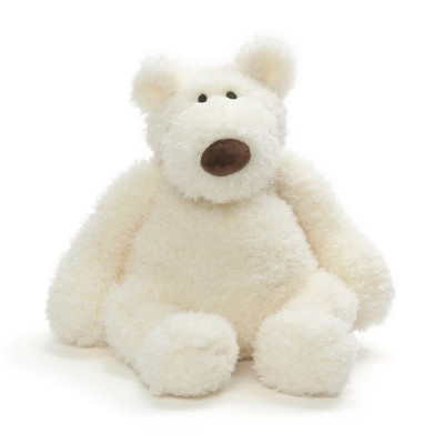 G by GUND Creme Bear 13  Stuffed Animal