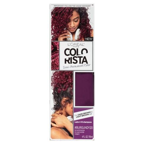 Loreal Paris Colorista Semi Permanent Hair Color For Brunette Hair