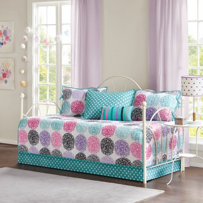 6pc Brittany Reversible Daybed Set Purple