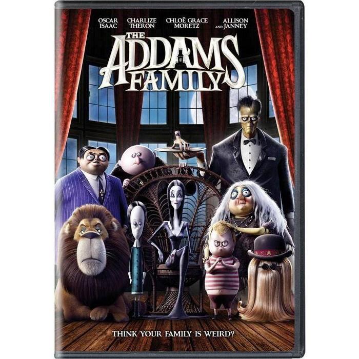 Addams Family (2019) (DVD) : Target