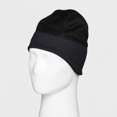 42602053f15dd Mens Fleece Pieced Earflap Run Hat – C9 Champion® Black One Size ...