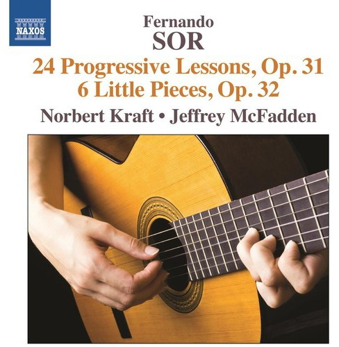 Norbert kraft - Sor:24 progressive lessons op 31 & 6 (CD) - image 1 of 1