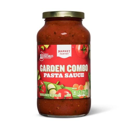 Garden Combo Pasta Sauce 23.75 oz - Market Pantry™ - image 1 of 1