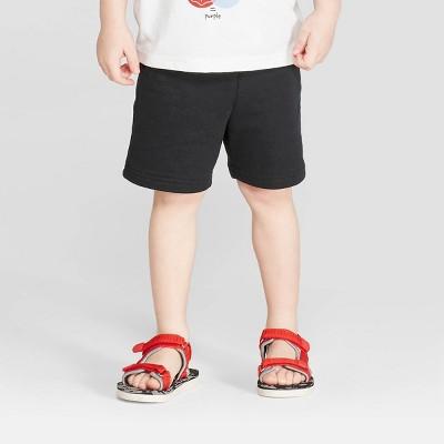 Toddler Boys' Knit Pull-On Shorts - Cat & Jack™ Black 3T