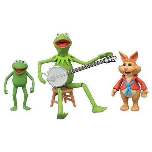 Diamond Select Toys Muppets Select Series 1 Kermit/Bean Action Figure - image 1 of 1
