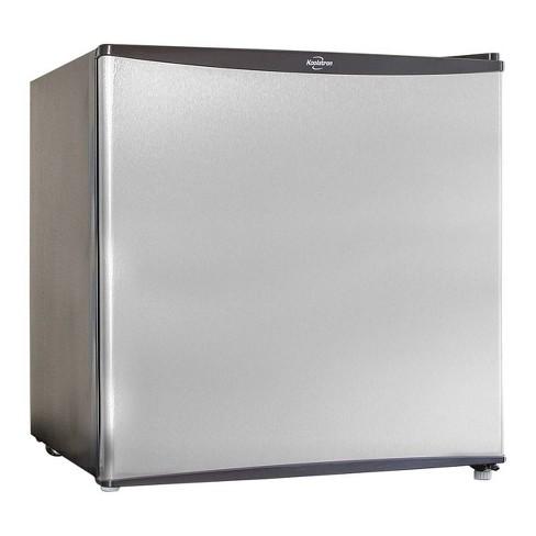 Koolatron 1.6 cu ft Compact Refrigerator - Silver - image 1 of 3