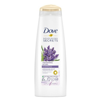 Shampoo & Conditioner: Dove Nourishing Secrets Thickening Rituals
