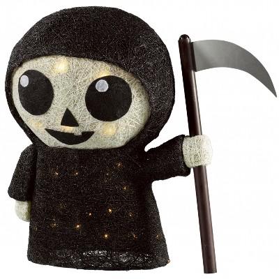16  Lit Halloween Sisal Reaper - Hyde and Eek! Boutique™