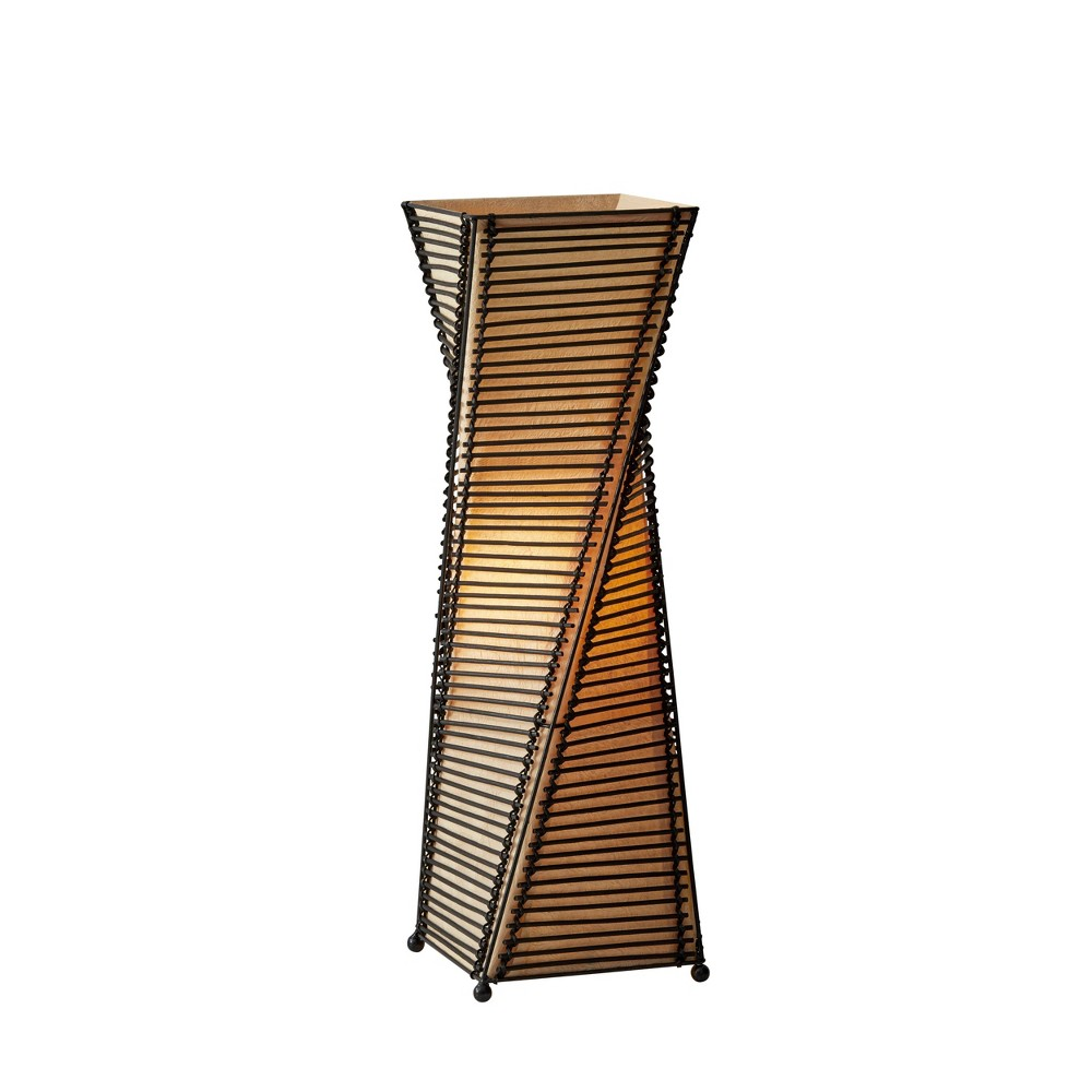 Image of Adesso Stix Table Lantern - Brown