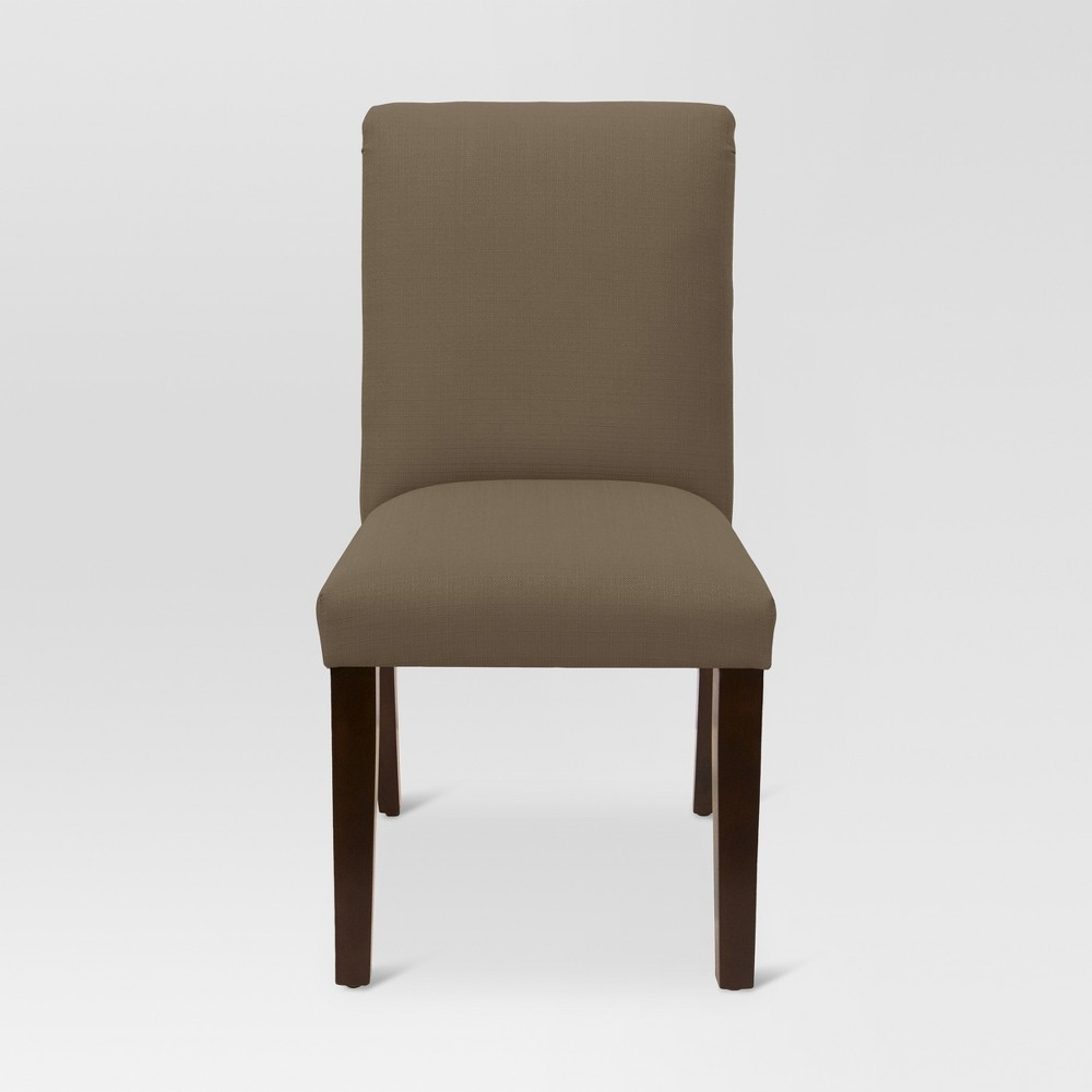 Textured Parsons Dining Chair - Taupe (Brown) - Threshold
