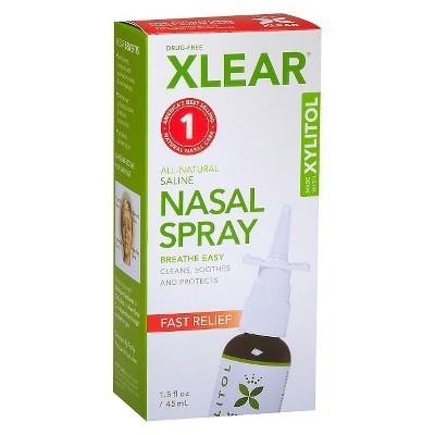 Xlear Saline Nasal Spray - 1.5 fl oz