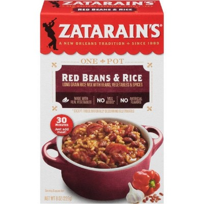 Zatarain's New Orleans Style Original Red Beans and Rice - 8oz