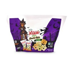 Sensible Portions Garden Veggie Chips Ghosts & Bats Sea Salt Flavored - 12ct