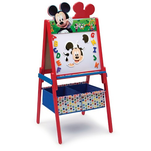 Delta Children Mickey Wooden Double Sided - Red - image 1 of 4