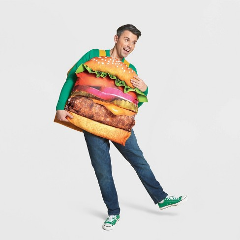 Kids' & Adult Hamburger Halloween Costume One Size - Hyde & EEK! Boutique™ - image 1 of 1