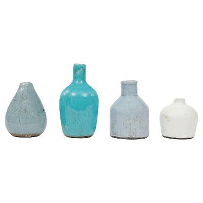 Terra Cotta Vases (Set of 4)