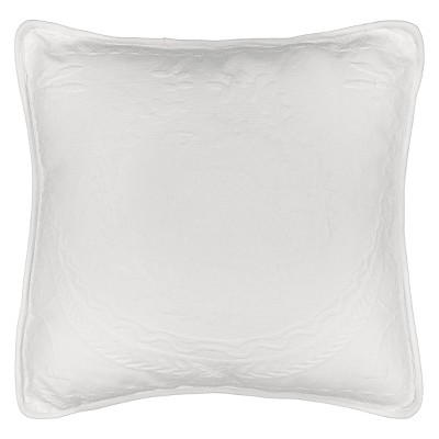 "King Charles Matelasse Throw Pillow (20x20"") - Historic Charleston Collection"