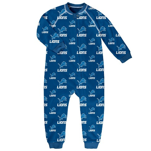 NFL Detroit Lions Newborn  Infant Blanket Zip-Up Sleeper   Target 4087ff9cd