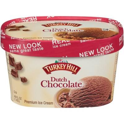Turkey Hill Dutch Chocolate Ice Cream - 48oz