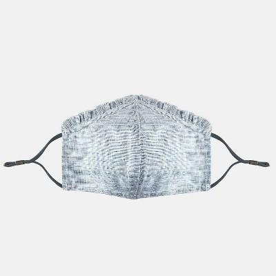Women's Ruffle Trim Face Mask - Universal Thread™ Gray One Size
