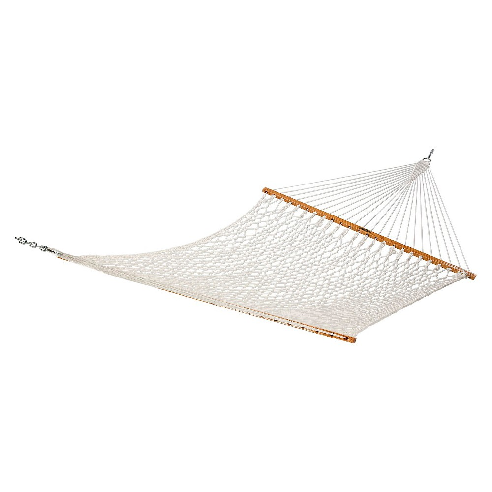 Image of Original Pawleys Island Deluxe Polyester Rope Hammock - White