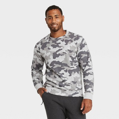 Men's Fleece Crewneck Pullover - All in Motion™