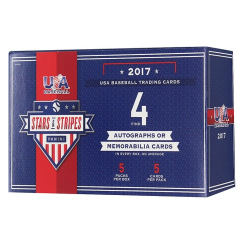 2017 MLB USA Stars and Stripes Trading Cards Full Box - image 1 of 2