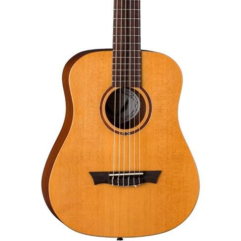 Dean Flight Nylon Satin Spruce Travel Guitar Natural - image 1 of 2