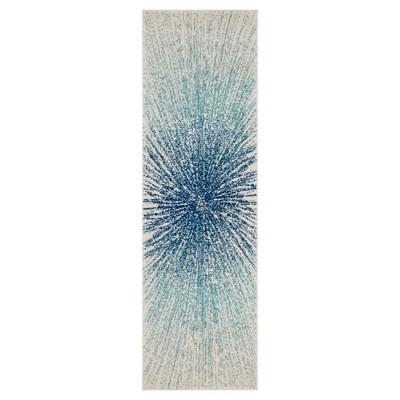 Evoke Rug - Royal/Ivory - (2'2 x7')- Safavieh