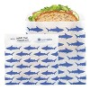 Lunchskins Recyclable & Sealable Paper Sandwich Bags - Shark - 50ct - image 2 of 4