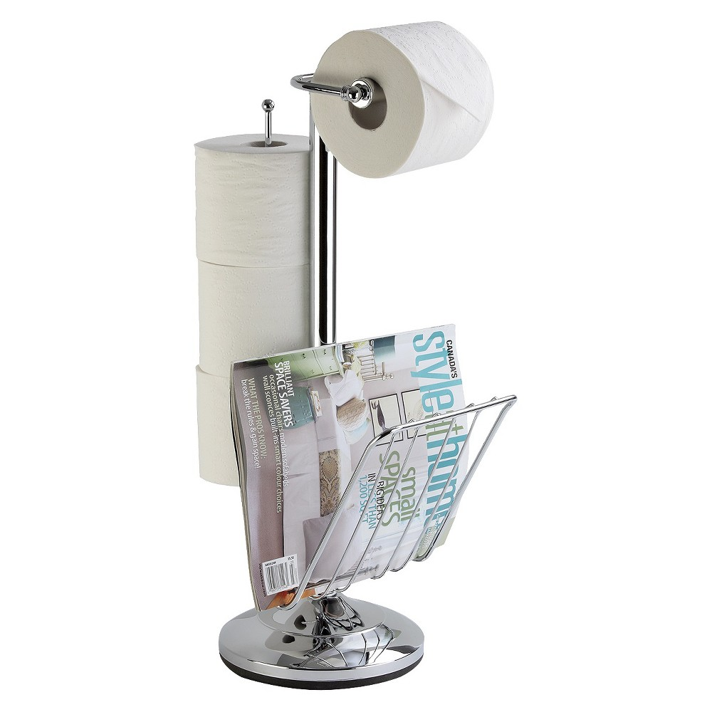 Image of Toilet Caddy Chrome - Better Living Products, Silver