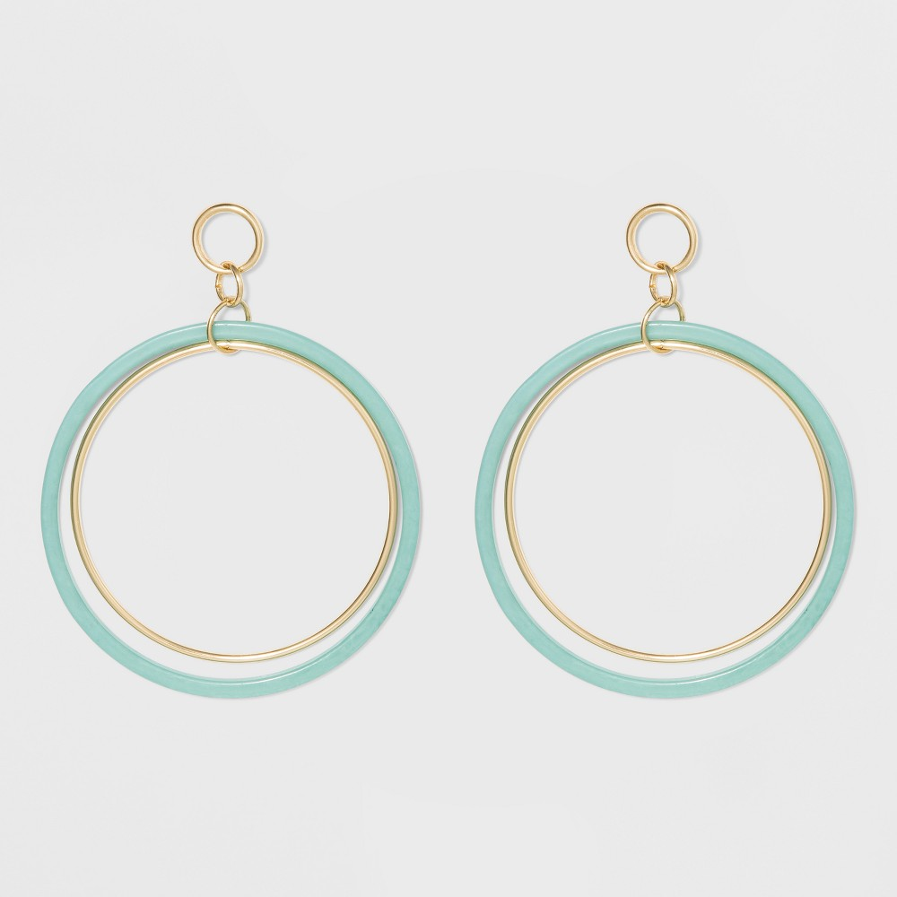 Circle Earrings A New Day 8482