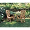 Classic Rocking Chair Natural - Oxford Garden - image 3 of 3