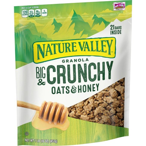 Nature Valley Oats 'N Honey Granola Crunch - 16oz - image 1 of 4