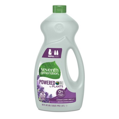 Seventh Generation Lavender Floral & Mint Liquid Dish Soap - 50oz