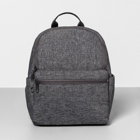 AntiTheft RFID Mini Backpack Gray - Made By Design™ - image 1 of 3
