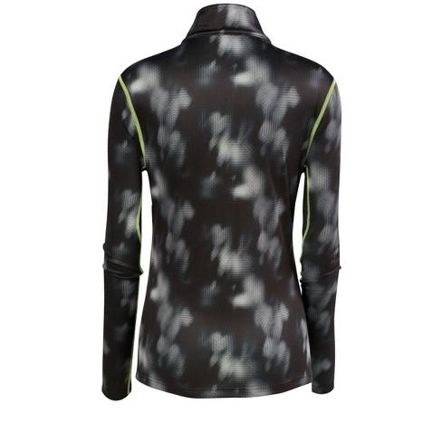 Mizuno Women s Breath Thermo Baselayer Half Zip Running Shirt 71a21a6f7a