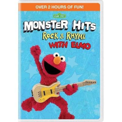 Sesame Street: Monster Hits: Rock & Rhyme With Elmo (DVD)