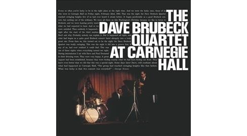 Dave Quarte Brubeck - At Carnegie Hall (Vinyl) - image 1 of 1