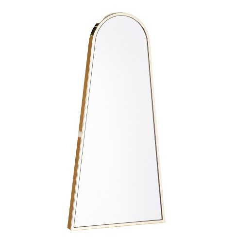 "Aiden Lane 36""x18"" Arlo Decorative Wall Mirror Brass - image 1 of 5"