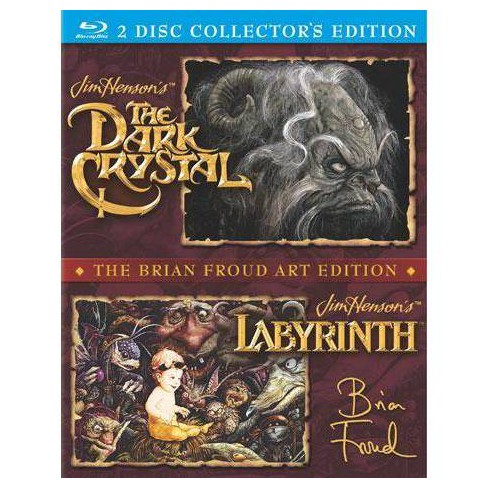 Dark Crystal / Labyrinth (Blu-ray) - image 1 of 1