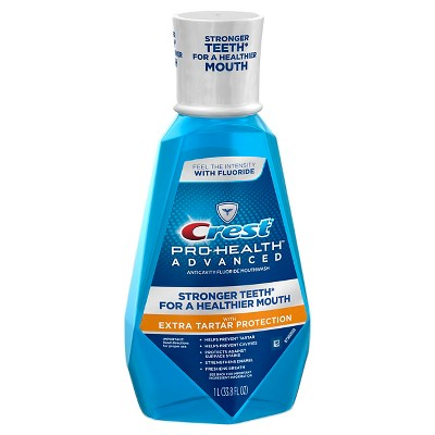 Mouthwash: Crest Pro-Health Advanced Extra Tartar Protection