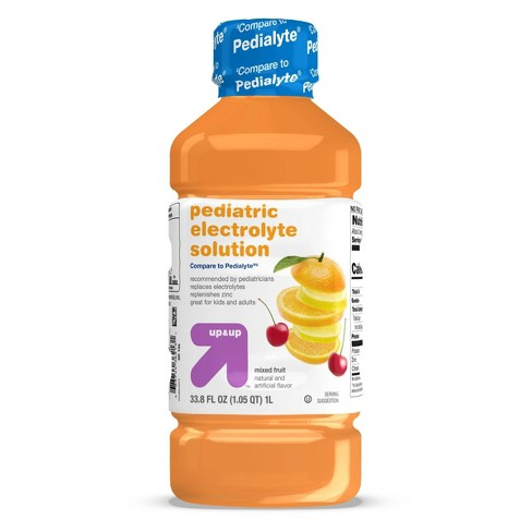 Pediatric Oral Electrolyte Solution Mixed Fruit - 33.8 fl oz - up & up™ - image 1 of 4