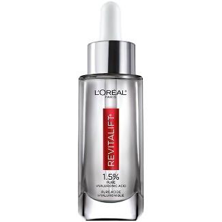 L'Oreal Paris Revitalift Derm Intensives Hyaluronic Acid Facial Serum - 1 Fl Oz : Target