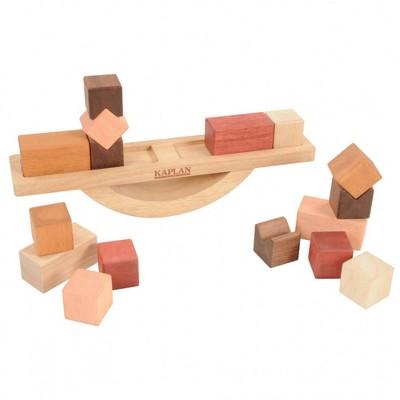 Kaplan Early Learning Wooden Block Balance