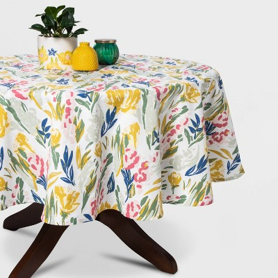 "70"" Floral Round Tablecloth - Opalhouse™"
