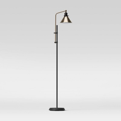 Adjustable Floor Lamp (Includes LED Light Bulb) Black - Threshold™