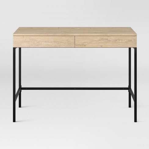 Loring Wood Writing Desk with Drawers - Project 62™ - image 1 of 4